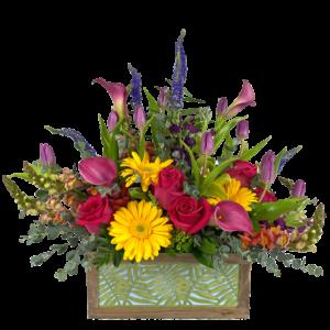 Blooming Fern Box Bouquet