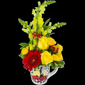 Cruella Deville Flower Mug