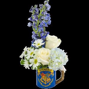 Hogwarts Sorting Flower Mug