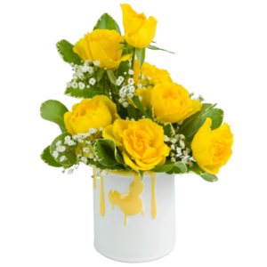Mickey's Splash of Yellow Bouquet