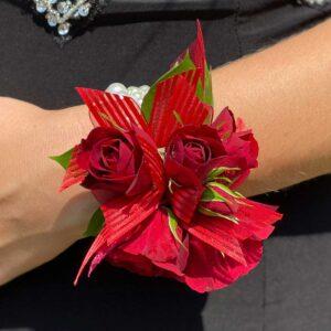 Ravishing in Red Corsage